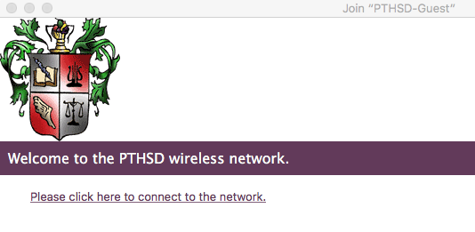 Accessing Guest Wireless Network - All District Buildings
